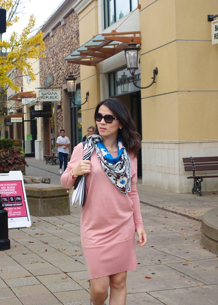 dusk-pink-dress-with-different-scarves-8364