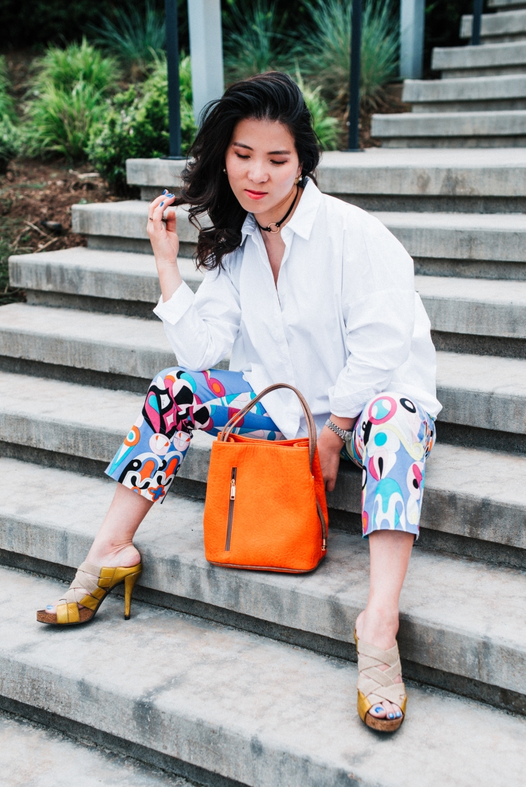 white shirt and emily pucci pant look-28