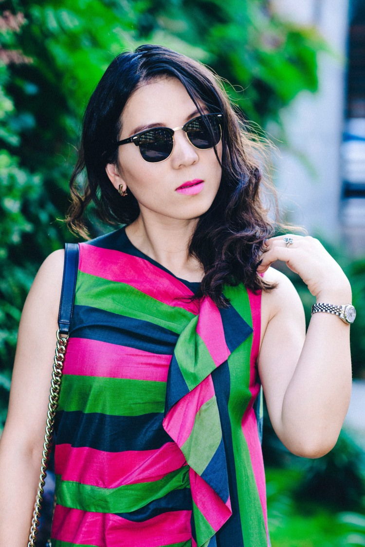ISA Arfen colorful dress-4119