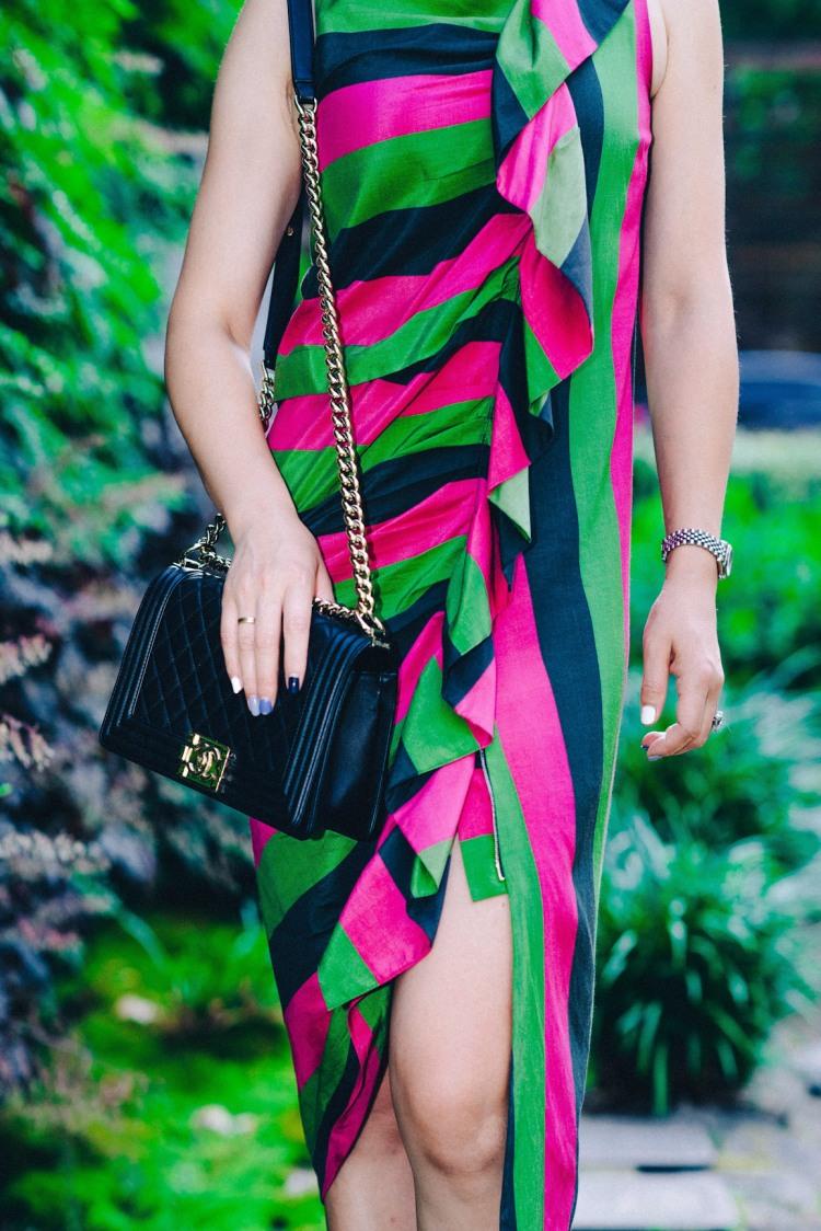 ISA Arfen colorful dress-4125